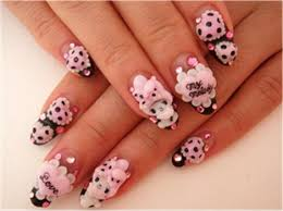 kawaii nail art cute daily on we heart it