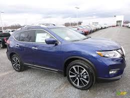 Nissan Rogue Platinum - 2017 caspian blue nissan rogue sl awd 117459993 gtcarlot com