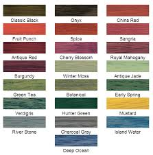 minwax solid color stain chart paint everything pinterest
