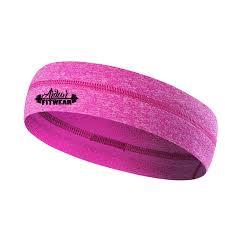 pink headband pink non slip headband ardour fit