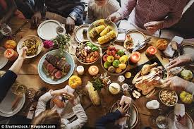 femail reveals thanksgiving meal last minute substitutions daily