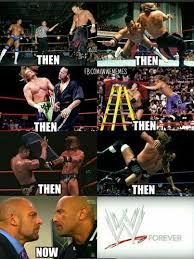 Triple H Memes - the rivalry between the rock and triple h is eternal