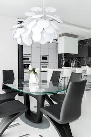 7 Black And White Kitchen by Stunning Black And White Apartment In Moscow Home Design Lover