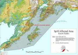 Where Is Alaska On The United States Map by Exxon Valdez Oil Spill Continued Effects On The Alaskan Economy