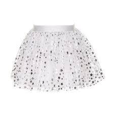 Holly Stars by Holly Hastie Girls Designer White Stars Tulle Skirt U2013 Holly Hastie