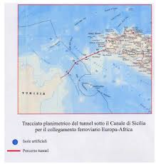 Map Of Spain And Morocco by The Sicily Tunisia Tunnel And The Extension Of The Eurasian Land