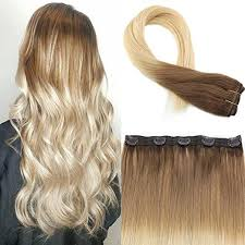 one clip in hair extensions moresoo hair t6 613 salon quality professional one clip