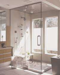 brilliant appealing bathroom tile idea and stylish small walk in excellent stainless steel shower pan with matching stainless steel ceiling panel and tile and beadboard bathroom