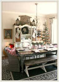 french farmhouse vintage christmas dining room french farmhouse