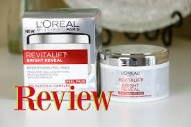 It Works Skin Care Reviews New L U0027oreal Brightening Peel Pads Review Youtube