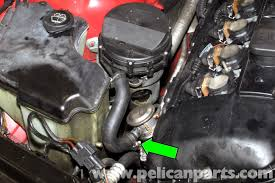 bmw e46 secondary air component replacement bmw 325i 2001 2005