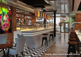 Interior Designs For Restaurants by 3d Interior Design Firms Concept House Home Cgi Drawings By