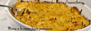 cuisine morue morue à la crème fraîche façon portugaise la cuisine des p tites