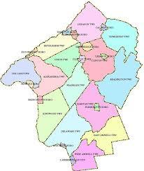 map of nj hunterdon county nj