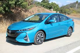 toyota california 2017 toyota prius prime first drive of new plug in hybrid