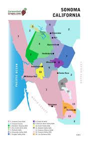 Oregon Ava Map by Us Wine Maps U2014 Fermented Grape The World Of Wine