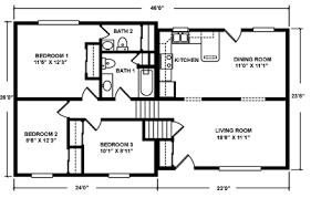 5 Level Split Floor Plans North Mountain Modular Split Level Floor Plans