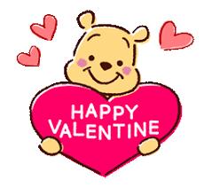 winnie the pooh valentines day happy s day winnie the pooh eeyore