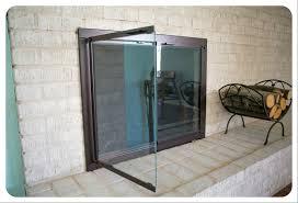 Ideas Fireplace Doors Glass Fireplace Doors Ideas Home Decor By Reisa