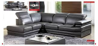 italian leather sofa sectional 605 modern gray full italian leather sectional sofa