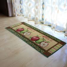 amazon com yazi fabric kitchen mat area rug fresh picked apples