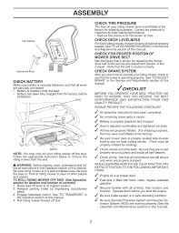 assembly checklist mcculloch mowcart 66 user manual page 7 24