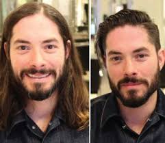 before and after thinning mens haircut 1657 best short hair makeovers images on pinterest short