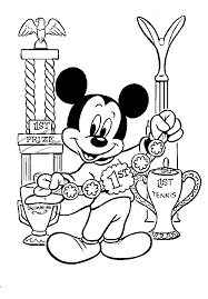 mickey mouse clubhouse coloring pages to print 1124 mickey mouse