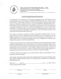 liability waiver form template release of liability form waiver