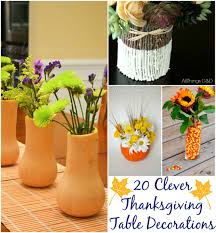 20 clever thanksgiving table decorations whats ur home story