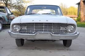 1960 Ford Falcon Interior Seller Of Classic Cars 1960 Ford Falcon White Blue