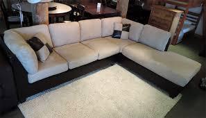 Sofa Warehouse Sacramento by Sacramento Hazelnut Sectional Sofa With Left Facing Chaise At
