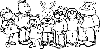 printable arthur coloring pages within eson me