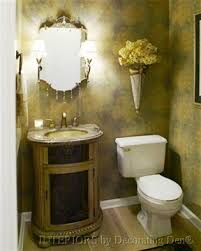 Powder Room Decorating Pictures - easy powder room facelift devine decorating results for your