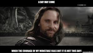 Aragorn Meme - black gate speech
