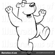 polar bear clipart 1157154 illustration by cory thoman