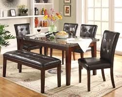 Marble Dining Room Table One Stop Furniture Homelegance Dining Room Dining Table 2456 64
