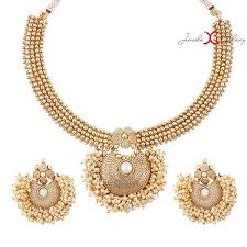 gold pearl necklace set images Necklace sets exclusive gold plated designer pearl necklace set jpg;w