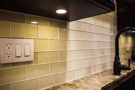 subway tile colors frosted glass front upper cabinets glossy dark