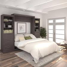 Bedroom Sets Baton Rouge Baton Rouge Queen Wall Bed Grey With Drawers