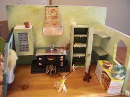 Dollhouse Kitchen Furniture Cinderella U0027s Handmade Miniature Kitchen Castle Of Costa Mesa