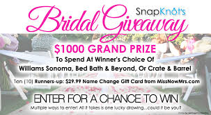 Wedding Gift Card Wedding Gift Card Contest 1000 Bridal Giveaway From Snapknot