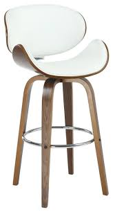 bachelor faux leather bar stool contemporary bar stools and