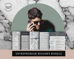 Entrepreneur Resume Template Downloads Stand Out Shop