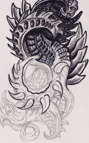 chest tattoo design tatos me guide biomechanical chest tattoo designs