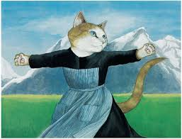 Sound Of Music Meme - cats galore infuses art and pop history with cute felines
