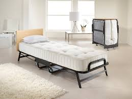 Collapsible Bed Frame Jay Be Hospitality Folding Bed With Spring Mattress U2013 Icon Home Store