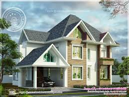 cute european style home kerala home design and floor plans