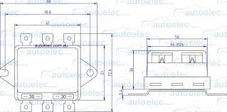 twin headlight relay new era 12 volt 12v new nlr 132 30a 30 amps