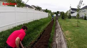 how to install a french drain in your back yard do it yourself